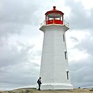 Peggy's Point Lighthouse II by David Davies