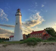 Fort Gratiot Lighthouse by DArthurBrown