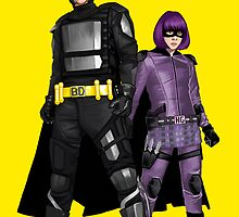 Big-Daddy & Hit-Girl by CallieBooth