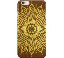 ozoráhmi mandala, copper iPhone Case/Skin
