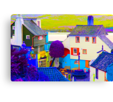 Portmeirion - False Colour Canvas Print