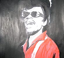 Little Richard by Colin  Laing