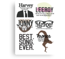 Best Song Ever Characters Canvas Print