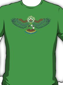 Colored Tribalish Braviary - The All-American Bird T-Shirt