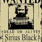 Sirius Black Wanted Poster by Anuktoy