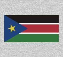 South Sudan Flag by cadellin