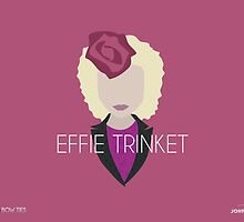 Blazers and Bow ties - Effie Trinket by John Emmanuel Isorena