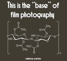 The ''base'' in film photography (white) by photogaet