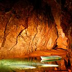 Underground Lake in Cave by jwwallace