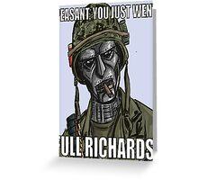 Doctor Doom X Tropic Thunder Greeting Card