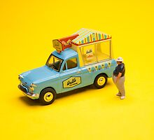 Ice cream van by Tim Constable