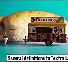 Several definitions of extra large! by Tim Constable