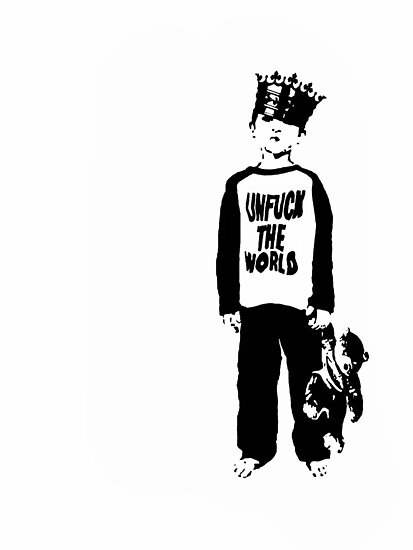 unfuck the world. by derP