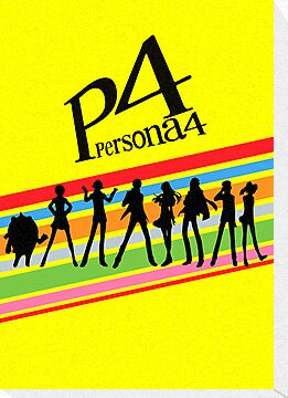 Persona 4 Group Shirt by TheDorknight