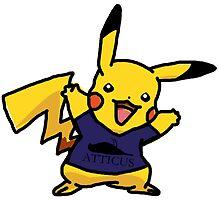 Punk Pikachu by Livman Designs