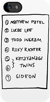 Scott's list by Joe Hickson