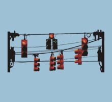 Hanging traffic lights by natbern
