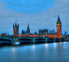 River Thames, Westminster Bridge by josefbrianenojo