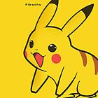 Pikachu Iphone Casing by ghostmeat