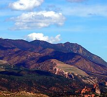 Southern Colorado Mountain Valley Scenic Landscape by Amy McDaniel