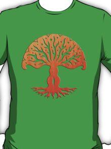 Tree of Life, Woodcut (viviána) T-Shirt