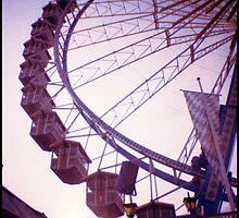 Ferris Wheel nr. 1 by lucie richter