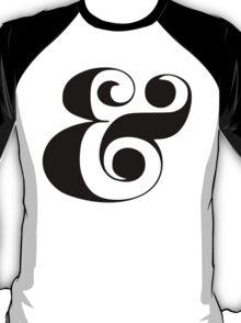 Ampersand (Eloquent Swash) T-Shirt