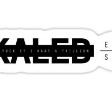 KALEB Baby (black) Sticker