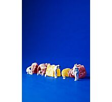 The great Jelly Baby Massacre! Photographic Print