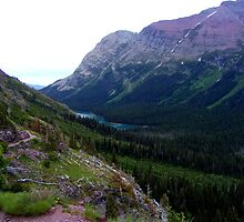 Valley Lake View by Mark Hudon