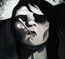 Man Smoking by Elizabeth Dibois