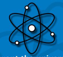 atom donor card [Big] Sticker