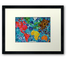 Smudge the World! Framed Print