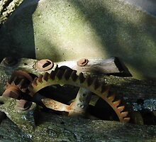 The Grinding Stone by WildestArt
