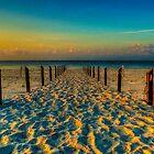 Sandy Beach by Madeline McDonald