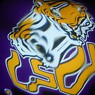 LSU Tigers by Hectagon