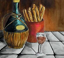 A Jug Of Wine And Thou by WildestArt