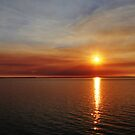 Smoky Sunset @ Derby WA by Mark Ingram