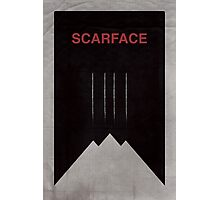 Scarface minimalist poster Photographic Print