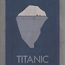 Titanic minimalist poster by thegDesigns