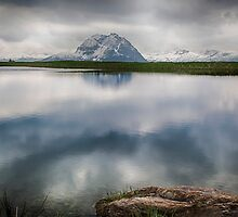 Mountain Lake Reflection by Nigel Jones