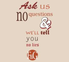 Ask Us No Questions by Lois Anne Rance