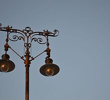 Wrought Iron Lamppost by ivDAnu
