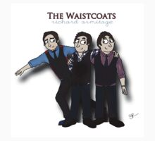 Richard Armitage Cartoon - Waistcoats by sebabybaby