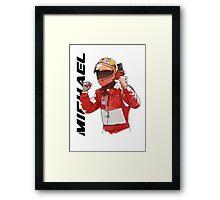 Michael Schumacher Framed Print