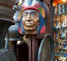 Indian Head outside store in Sook by mypic