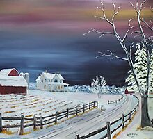 Winter Dusk by Jack G Brauer