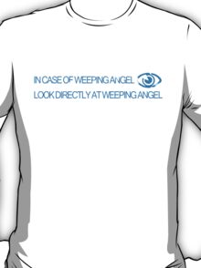 In Case of Weeping Angel T-Shirt