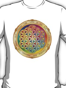 The Flower of Life - light T-Shirt