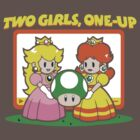 Two Girls, One-Up by WelfareTaco